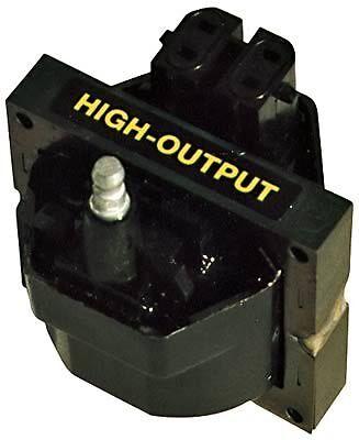 GM High Output Square Epoxy Proform 66937C : Ignition Coil 45,000 V