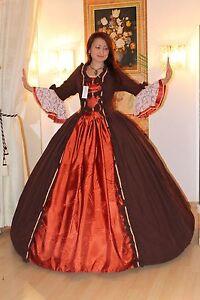 Barock Kostüm, Rokoko Kleid , Südstaatenkleid- Ballkleid Gr.34-52 Lieferbar !