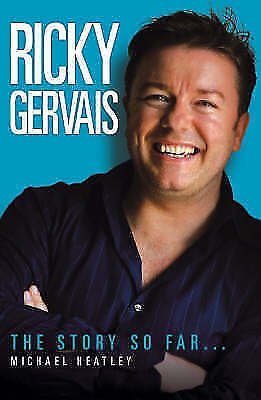 """AS NEW"" Ricky Gervais: The Story So Far, Heatley, Michael, Book"