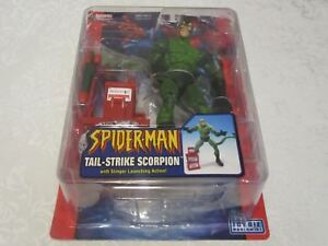 Toy-Biz-Marvel-Spider-Man-Spiderman-Classics-Tail-Strike-Scorpion-Action-Figure