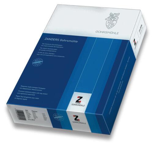 ZANDERS Gohrsmühle Kopierpapier A4 90 g weiß 500 Blatt Laser Inkjet 201534