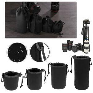 Lenti-SLR-Antiurto-Morbido-Sacchetto-Protettivo-Neoprene-Obiettivo-DSLR-Telecamera-caso-sacchetto