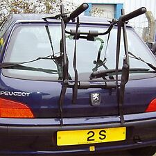 2 Bike Universal Bicycle Carrier Car Rack Bike Cycle Fits Most Cars Rear Mount