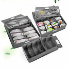 3PCS Underwear Bra Socks Ties Divider Closet Container Storage Box Organizer FG