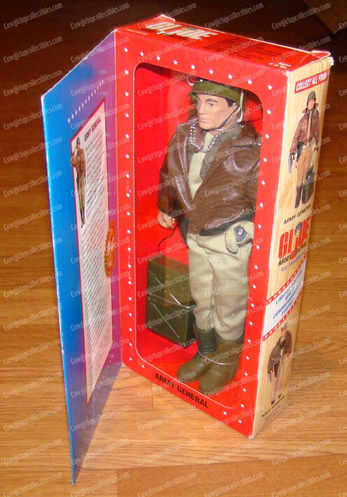 WWII Army General, Limited 07056 (GI Joe Hasbro, 27663 27539) 1996, Military