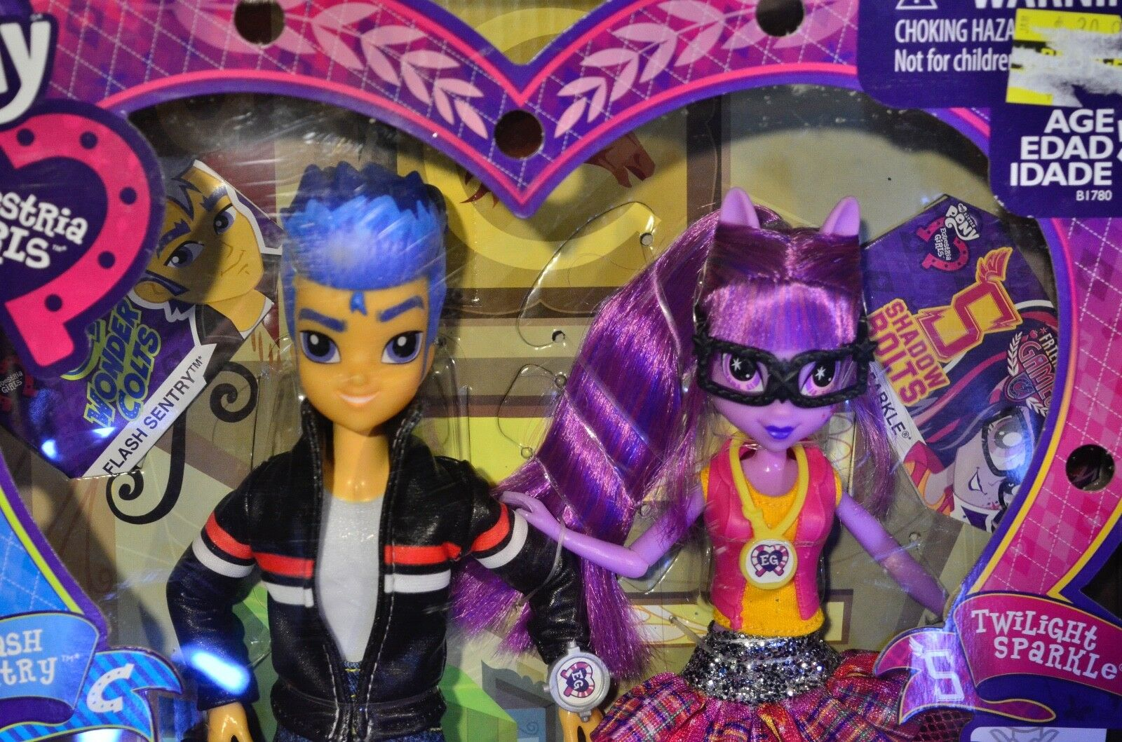 My Little Pony Equestria Girls Flash Sentry and Twilight Sparkle 2 Doll Gift Set