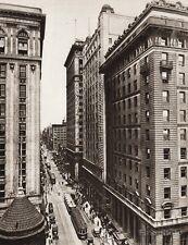 1925 Vintage CANADA ~ Yonge Street Toronto Ontario Architecture Cityscape Photo