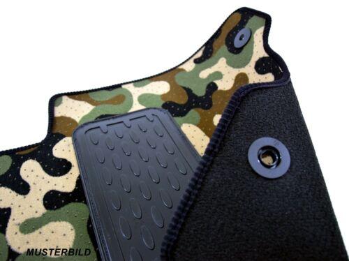 Armee-Tarnungs Autoteppich Autofußmatten Auto-Matten für VW Jetta 2005-2011
