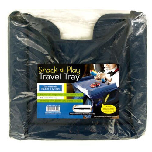 Child Snack Play Travel Tray Waterproof Safety Baby Car Table Board Kids Toddler