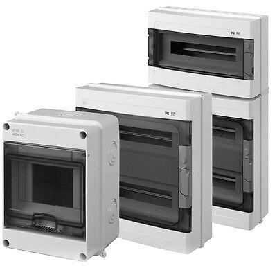 Sicherungskasten Kleinverteiler Feuchtraum IP55 AP Unterverteilung LUX-PLUS