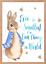 Baby-Boy-Peter-Rabbit-Beatrix-Potter-Nursery-Decor-Art-Print-Set-Bunny-Room miniatuur 7