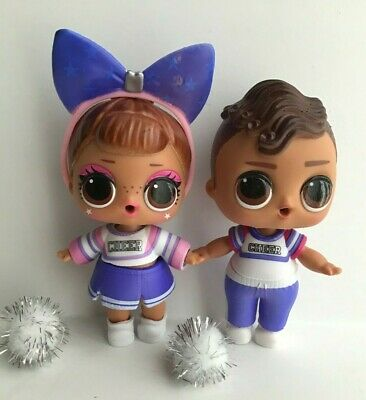 LOL SURPRISE DOLLS SIS CHEER (color changer) and BRO CHEER ...