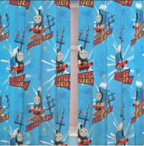 "Disney Childrens Kids Boys Girls Novelty Bedroom Curtains 66/""x72/"" 168cm x 183cm"