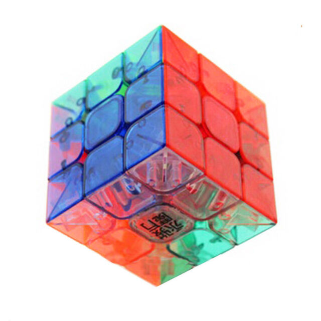 New Magic Ultra-smooth Professional Speed Transparent Cube Puzzle Twist Gift IW
