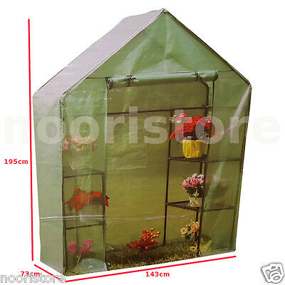 Garden Walk-in Mini Greenhouse Green Shade House Hothouse Plants Shadehouse