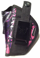 Walther P-22 With 3.4 Barrel Muddy Girl Gun Holster