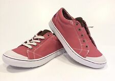 MOZO THE MAVEN PICNIC SNEAKERS SLIP RESISTANT PINK CANVAS US SIZE 10 -NEW