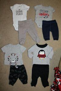 Carter S 8pc Baby Boy Clothes Lot Newborn Ebay