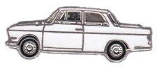 BMW Pin / Pins: BMW 700 - emailliert - Seitenansicht  - weiss