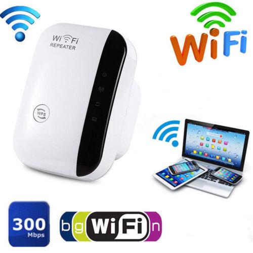 1 Set Wireless Wifi Range Extender Super Booster 300mbps Superboost Boost Speed