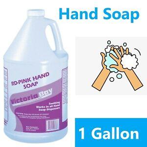 Victoria-Bay-Hand-Soap-Liquid-Pink-Scent-Cherry-Size-1-Gallon