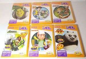 Lot-of-6-Fisher-Price-iXL-Learning-System-Games-Free-Shipping