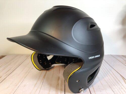 Under Armour Baseball Batting Helmet UABH100 Black Youth Size 6 1//2-7 3//4