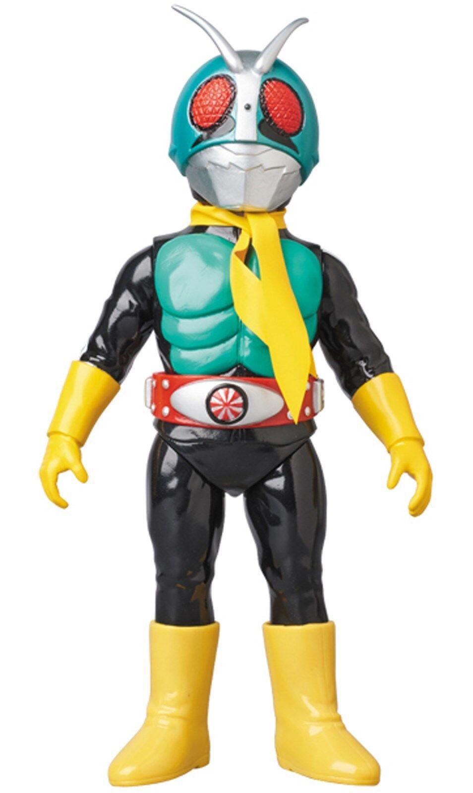 Masked Rider Kaijin Shocker Rider Retro Sofubi Soft Vinyl Figure 24cm MedicomToy
