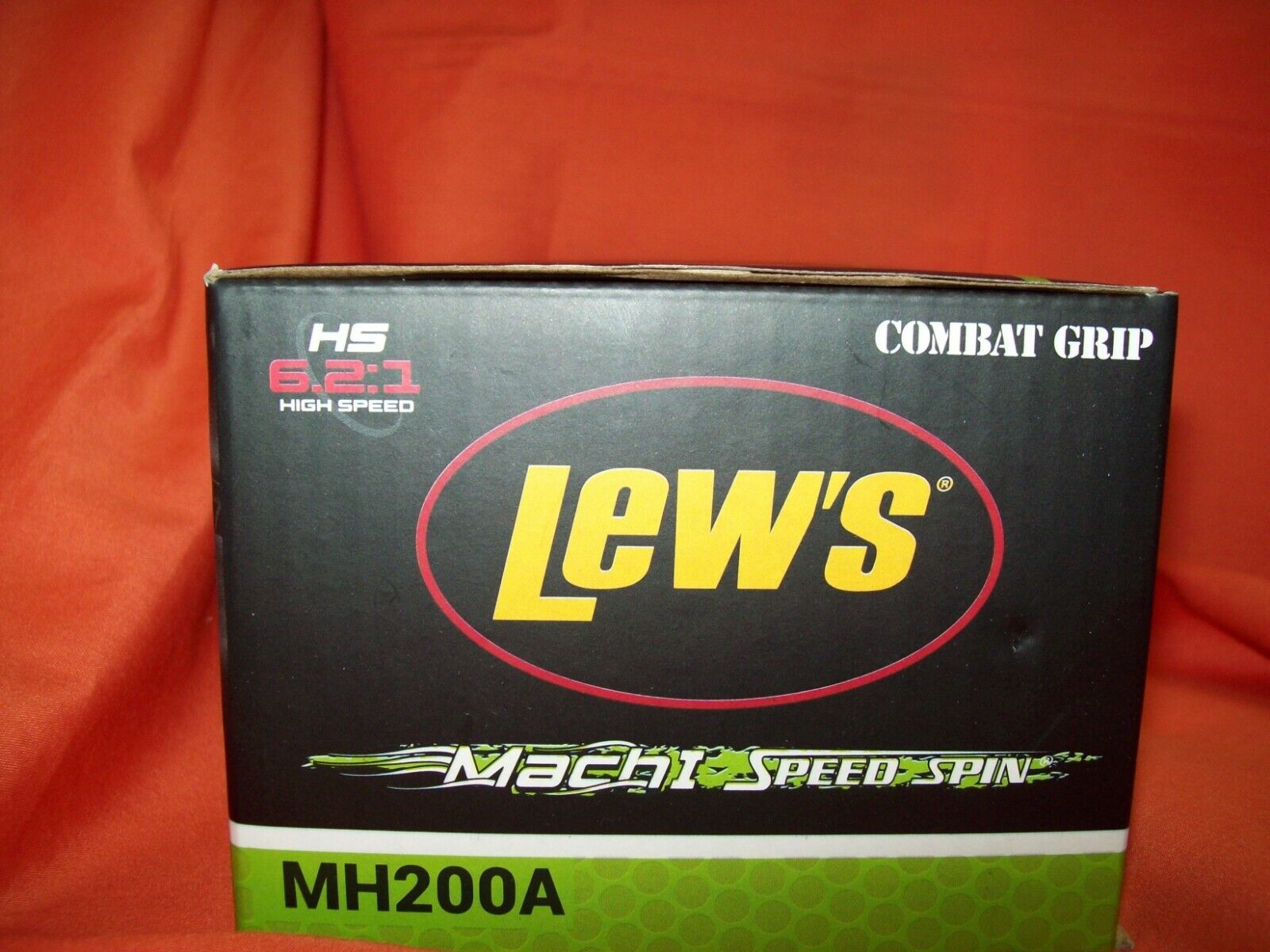 LEW'S Mach I Speed Spin Series Spinning Reel Gear Ratio 6.2 1  MH200A