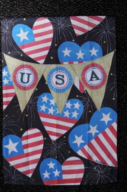 Usa Banner 12 5 X 18 Garden Flag 27 3082 50 Flip It Rain Or Shine Seasonal Ebay