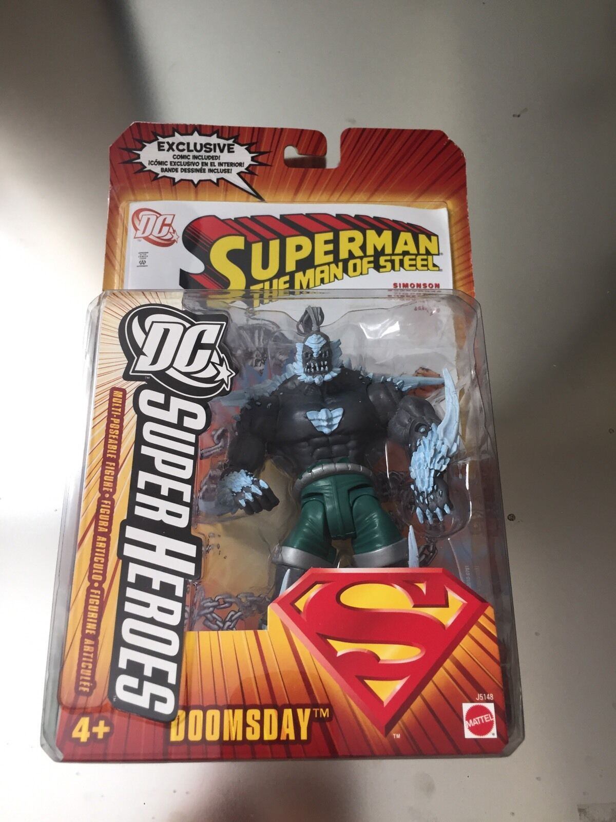 DC SUPERHEROES JUSTICE LEAGUE - DOOMSDAY - NEW UNOPENED
