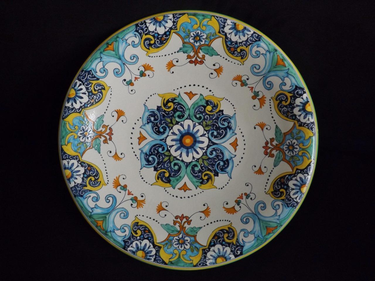 NWT Fravolini Oggetti D Arte 16 He Painted Wtutti Hanging Bowl
