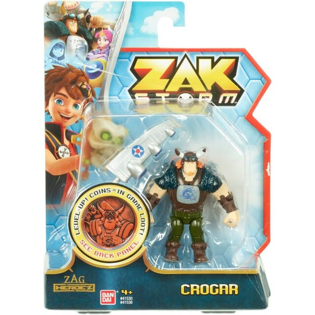 Zak orage 7.6cm figurine articulée - crogar