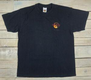 Details about Rare Vintage 90s HARD ROCK CAFE Las Vegas Dragon Graphic Black T Shirt Size L