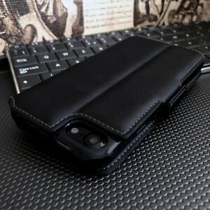 2221-Real-Leather-Wallet-Case-Black-For-HUAWEI-P30-PRO