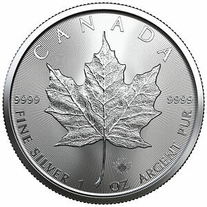 LIMITED MINTAGE 50k! 1-oz Silver Canadian maple leaf w//Cougar Privy .9999 BU
