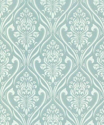 Belgravia Decor Blenheim Wedgewood Luxury Designer Wallpaper Pattern 4954-AS4
