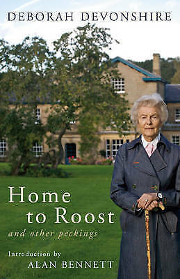 1 of 1 - DEBORAH DEVONSHIRE - HOME TO ROOST & OTHER PECKINGS - HB DJ VGC CHATSWORTH