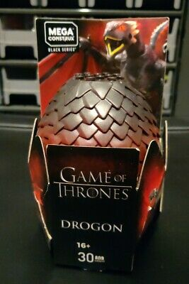 Mega Construx Game of Thrones Drogon Black Series Building Set GMN99