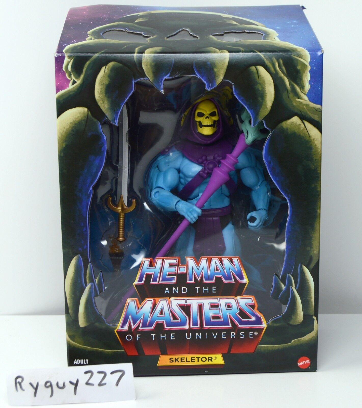 Motuc, Skeletor 2.0, amos del universo clásicos, filmation, Completa, MIB