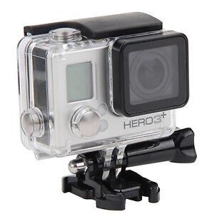 waterproof diving housing case for gopro hero 3 hero 4 plus camera accessory ebay. Black Bedroom Furniture Sets. Home Design Ideas