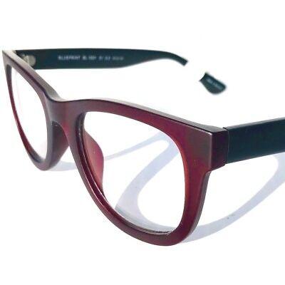 BLUE LIGHT Protection Computer TV Reader Glasses BluVue BLUEPRINT WINE Various 0