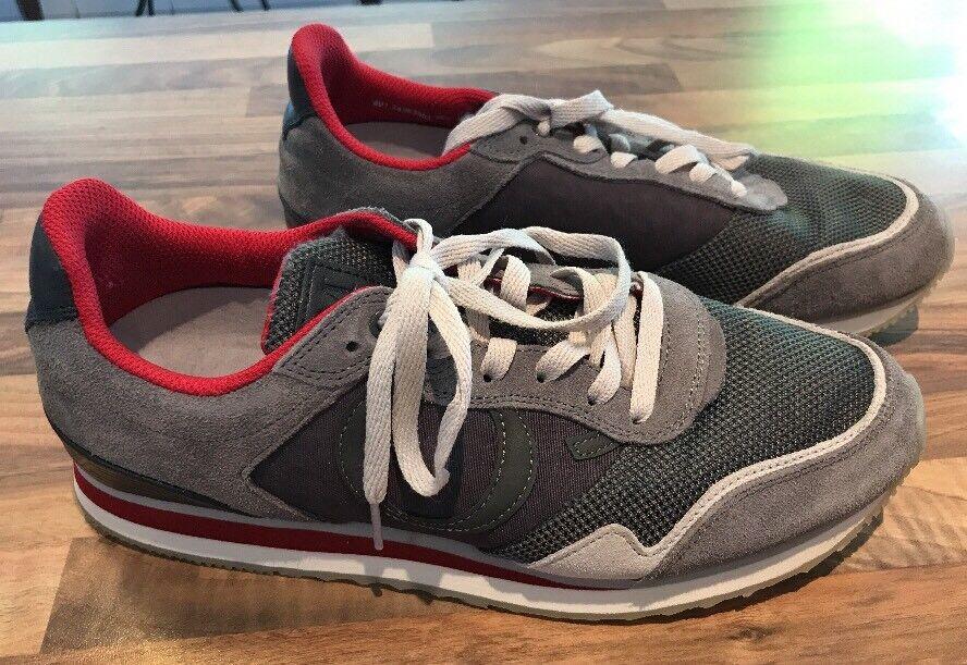 Marc O` grautöne Polo Sneaker Schnürer Turnschuh grautöne O` grau Gr. 42 1a3106
