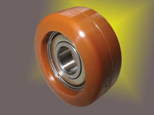 De leadership roulettes de pu dans environ 95 ° shore a dureté avec Kula roue ø 70mm