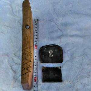 USED-Japanese-Hand-Plane-Kanna-Carpenter-Tool-Woodworking-Signed-Japan-D0034