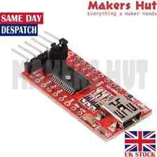Arduino Minim Genuine FTDI FT232RL Micro USB UART TTL Serial Adapter 3.3V 5V