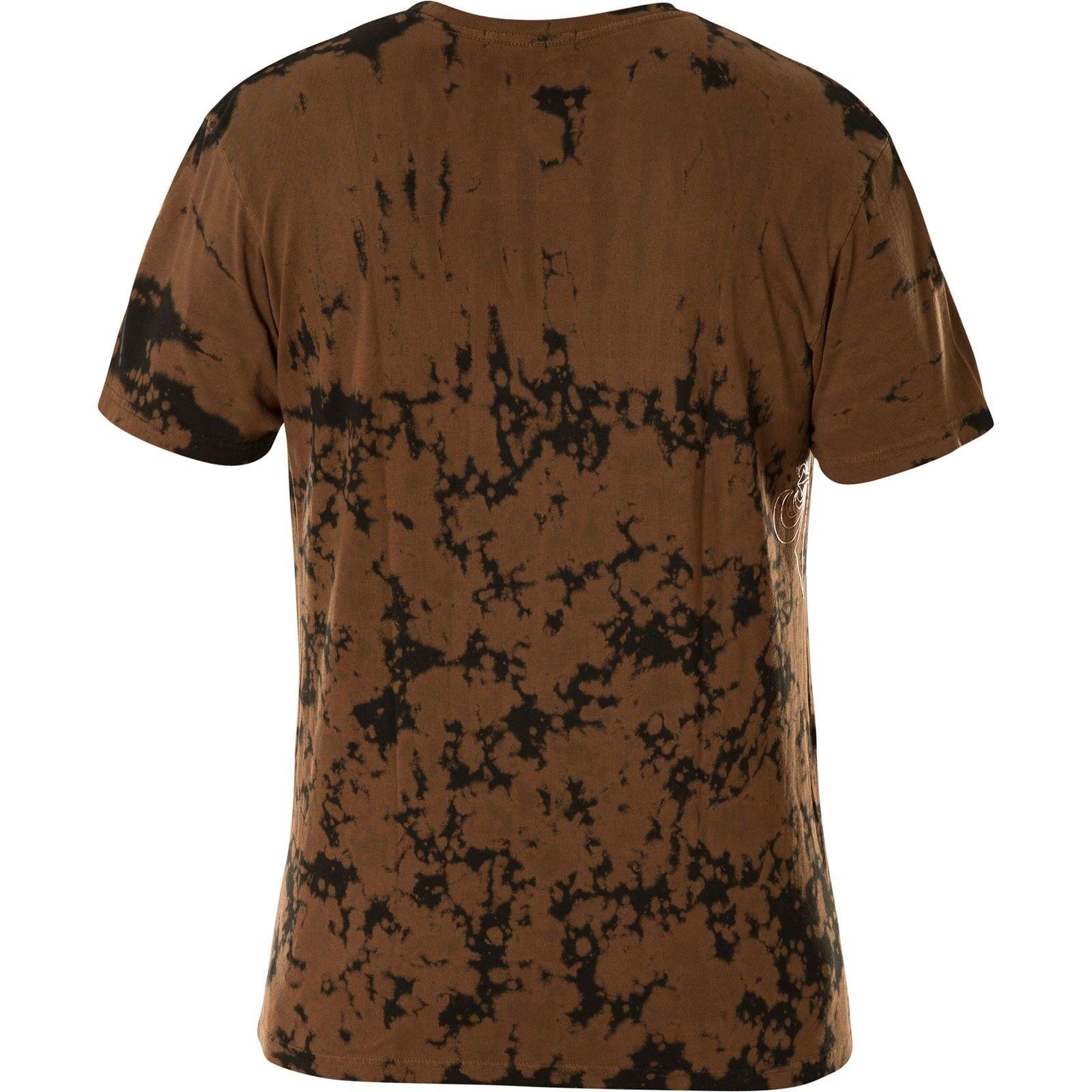 Affliction T-shirt Tiger rosa rosa rosa Marronee T-shirts 05823c