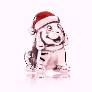 100% QualitäT Pandora Christmas Puppy Charm
