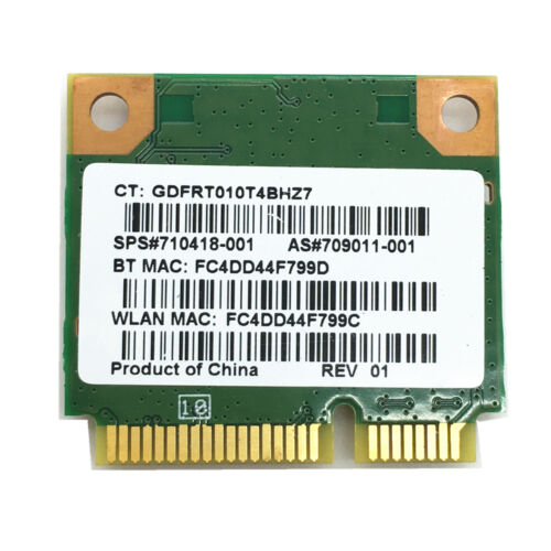 Bluetooth 4.0 Card HP Pavilion m4 m6 envy14 16 802.11BGN MT7630E Wifi 150Mbps