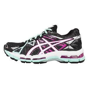 Asics Gel Surveyor 3 Black Blue Pink Womens Running Shoes Sneakers T564N 9901